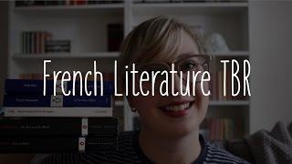 French Literature TBR