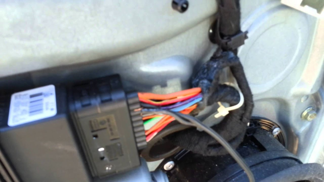 Wiring Diagram Car 220v Motor Single Phase Jetta 2001 Front Door Won't Lock (fix) (mod) - Youtube