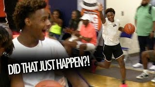 Bronny James CAN'T BELIEVE What He Just WITNESSED! Dior Johnson DESTROYS Opponent