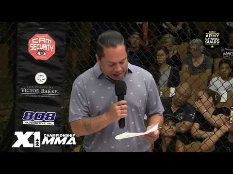 X1 Events #56 Championship MMA Live Stream from Hawaii