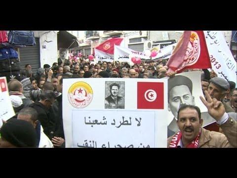 ARAB UPRISING: TUNISIA PROTESTS STILL GO ON - BBC NEWS