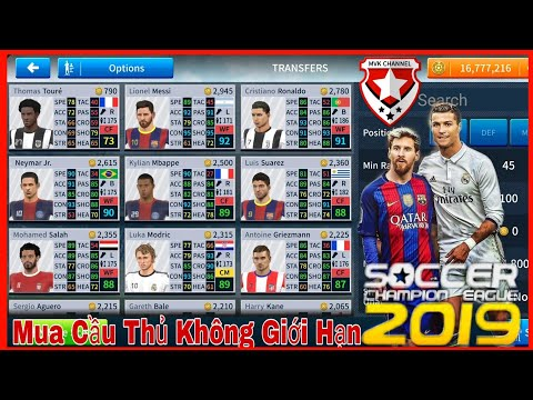 MVK - Hướng Dẫn Chi Tiết Mở Khóa Cầu Thủ • Mua Cầu Thủ Không Giới Hạn ( Dream League Soccer 2019 )