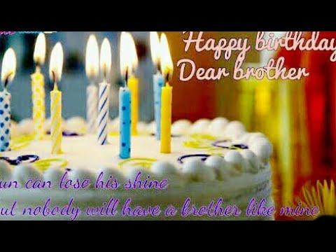 Happy Birthday To Brother New Whatsapp Status Video Birthday