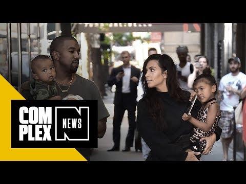 Kanye West & Kim Kardashian West Welcome Their Third Child