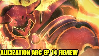 CR: Sword Art Online Alicization Arc Ep 14| THE CRIMSON KNIGHT, A BLAST FROM THEIR PAST