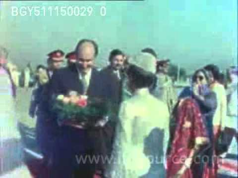 Aga Khan and Begum Salimah in Pakistan