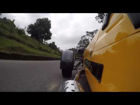 In and around Bogota in a Westfield car . Side Mounted Camera