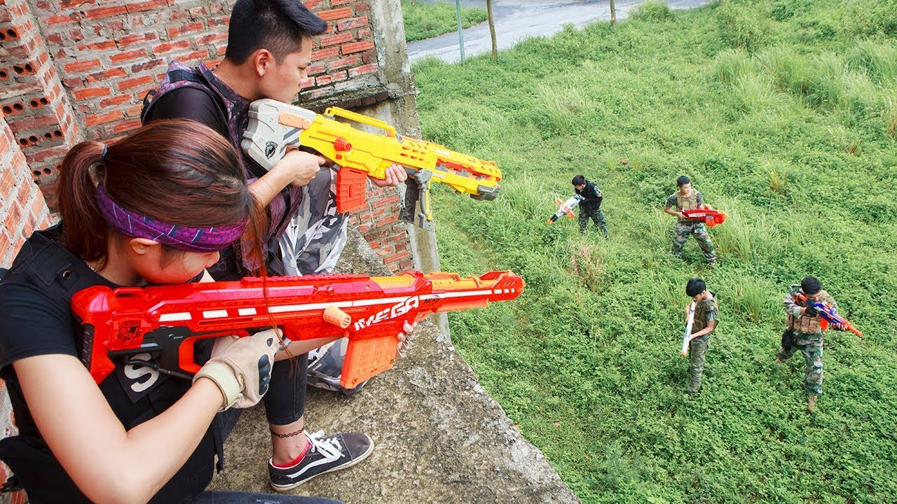 Download Nerf Guns War : The Men Of SEAL TEAM Special Fight The Pursuit Of Criminal Groups