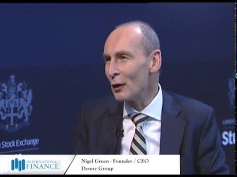 Nigel Green - Founder & CEO - Devere Group - At the London stock exchange - IFM - 2016