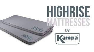 Kampa | Highrise Self-Inflating Mattresses | Product Overview