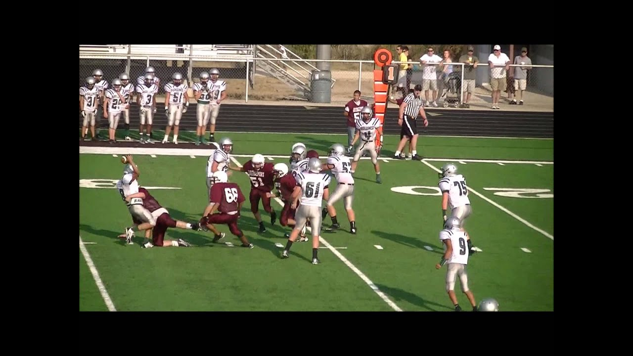 Bridgeport Freshman Football vs Iowa Park 2013 - YouTube