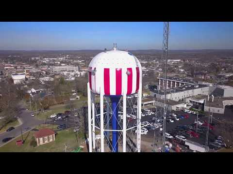 Painting a Water Tower
