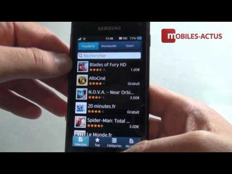 Samsung Wave 3 - Démonstration, prise en main et test