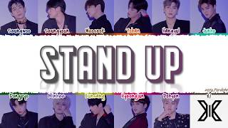 X1 (엑스원) - 'Stand Up' (Intro.) Lyrics [Color Coded_Han_Rom_Eng]