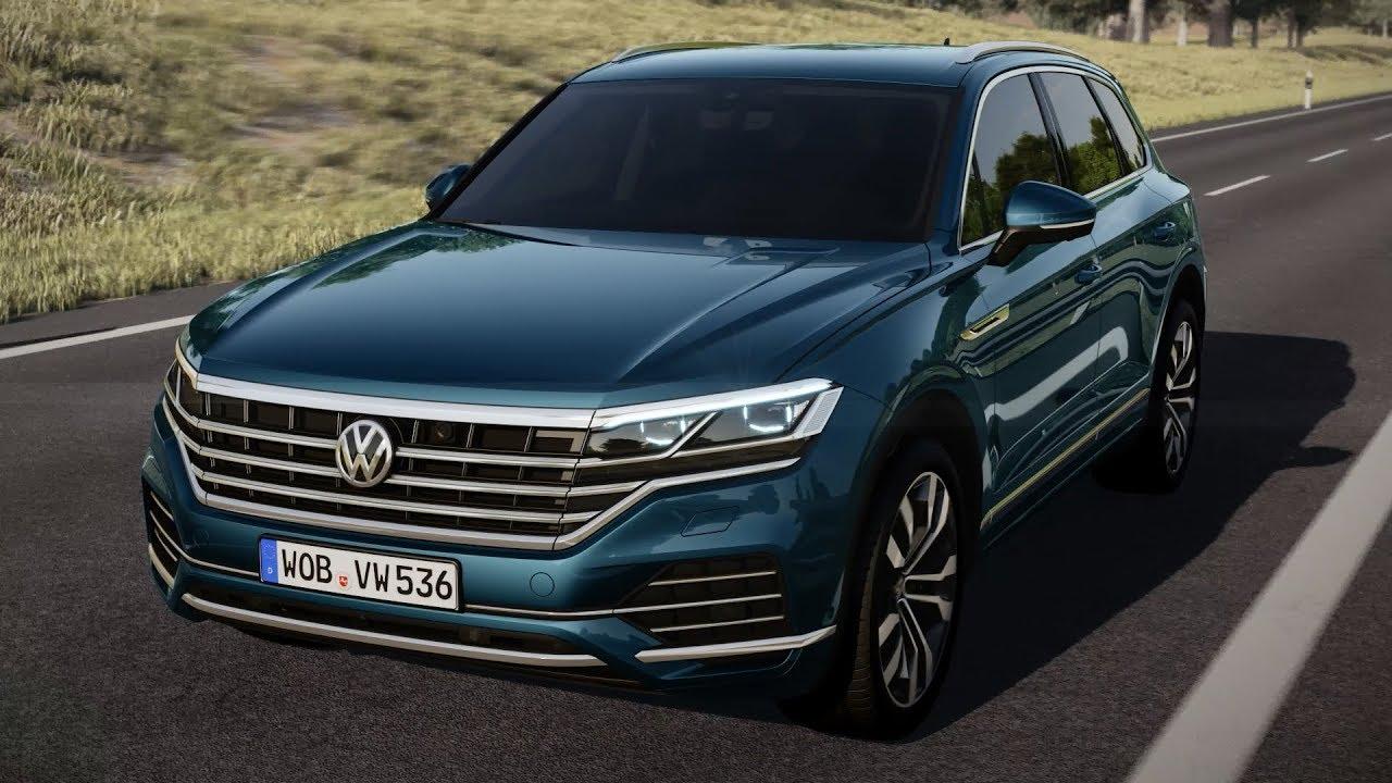 2019 volkswagen touareg  u2013 night vision  head-up-display