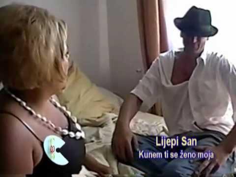 Lijepi san - Kunem ti se zeno moja - (Official video 2007)