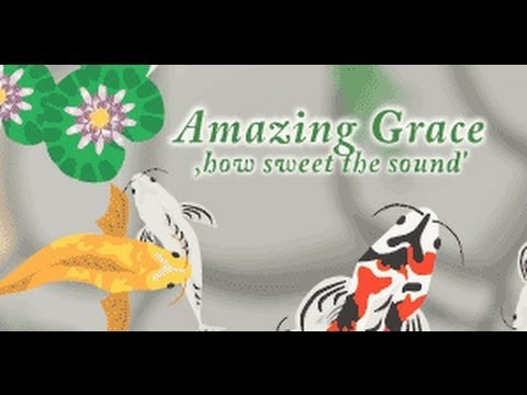 Amazing Grace Animated Christian E-card