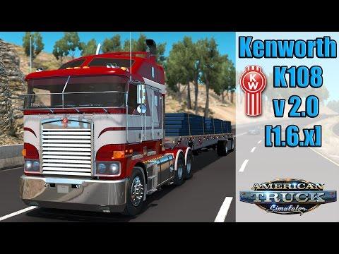 ATS Mods - Kenworth K108 v 2.0 [1.6.x]