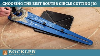 Cutting Circles with the Router Circle and Ellipse Jigs