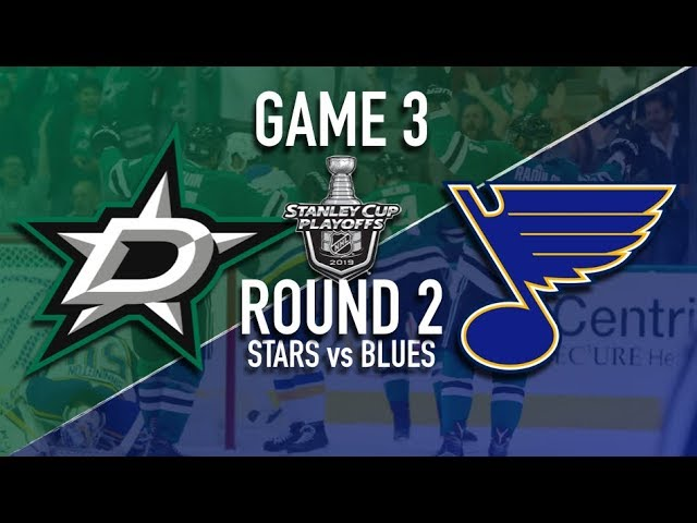Dallas Stars vs St Louis Blues | Game 3 | Round 2 | Stanley Cup Playoffs