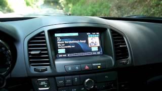 Buick IntelliLink Demo in 2012 Buick Regal GS