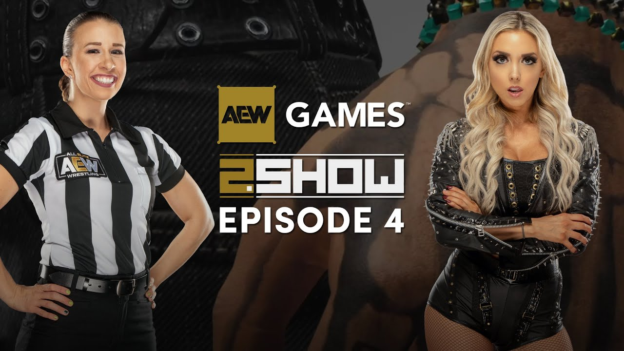 AEW Games 2.Show Episode #4 - Hosted by Allie Bunny & Aubrey Edwards