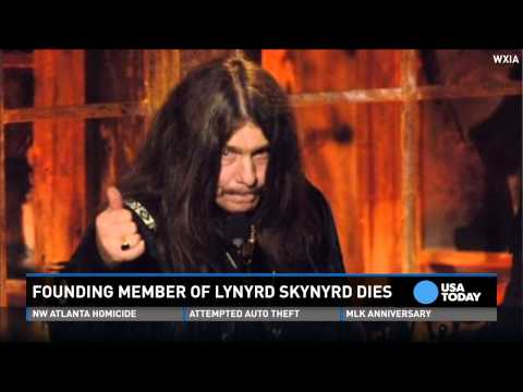 Lynyrd Skynyrd drummer Bob Burns dies in car crash