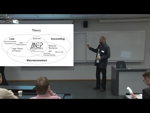 Nicolas Hofer - Accounting, Money and Banking in Terms of Law - Nov. 1, 2017, Oslo