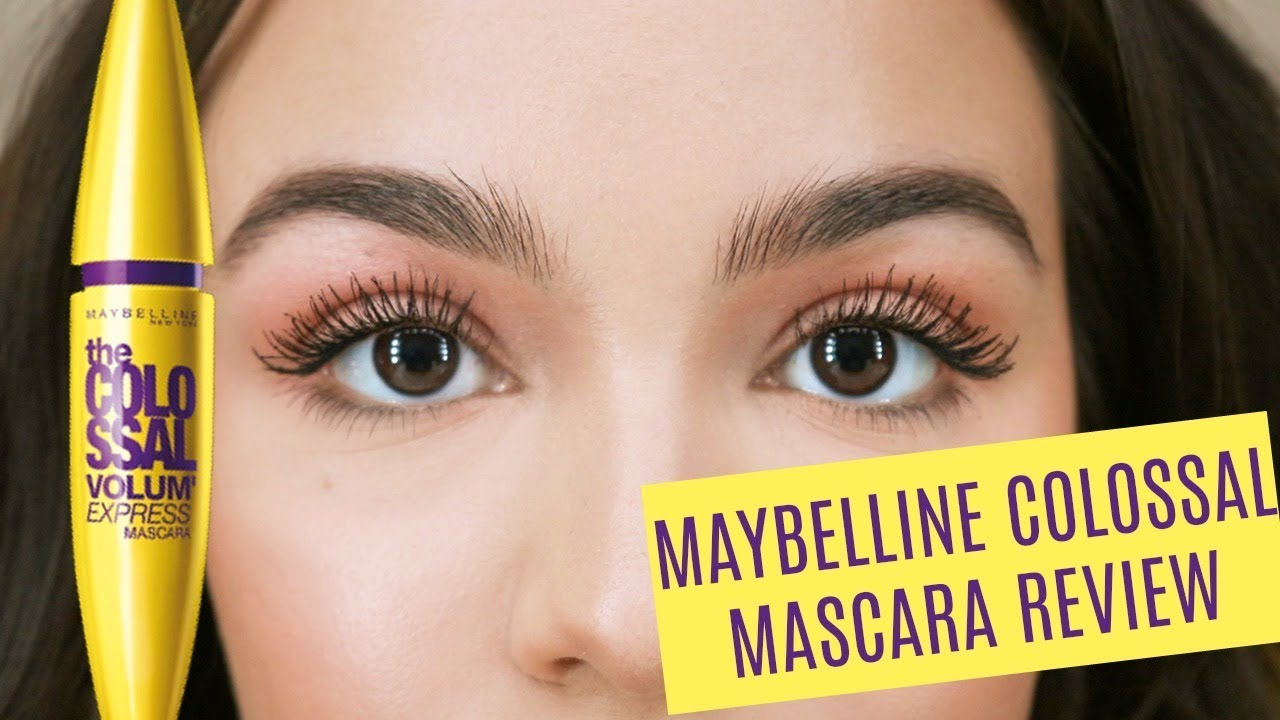 a01dbecafa5 Maybelline Colossal Mascara Review + Demo! - YouTube
