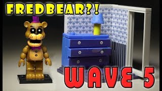 FNAF FREDBEAR w/Right Dresser Door - Mcfarlane Toys Wave 5 Facts and Rumors, Five Nights at Freddy's