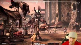 MKX - Kenshi vs D