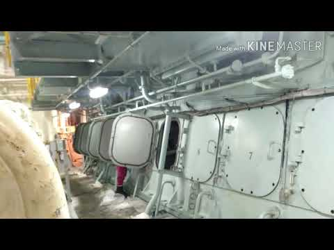 Engine Room Of Ship