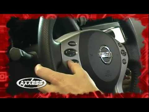 Axxess Steering Wheel Control Interface - 2010 Nissan Altima - YouTube