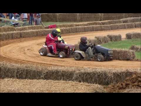 Bowles Farm National Lawn Mower Race. USLMRA In Clements Maryland.