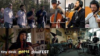 Tiny Desk Meets globalFEST: Dedicated Men Of Zion, Labess, Sofia Rei & DakhaBrakha
