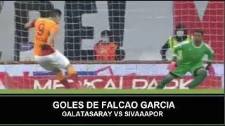 GOL FALCAO GARCIA Galatasaray vs Sivasspor