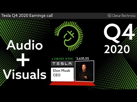 Tesla Q4 2020 Earnings Call (shortened fixed version)