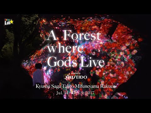 teamLab: A Forest Where Gods Live presented by Shiseido