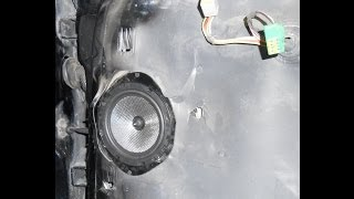replace ford f 250 5x7 speaker s with 6 5 mid and tweeter