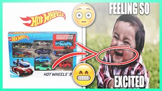 Hot Wheels Super Cars 9 Gift Pack Unboxing