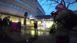 Mahnwache Berlin 2jähriges Jubiläum  - Reiner Braun