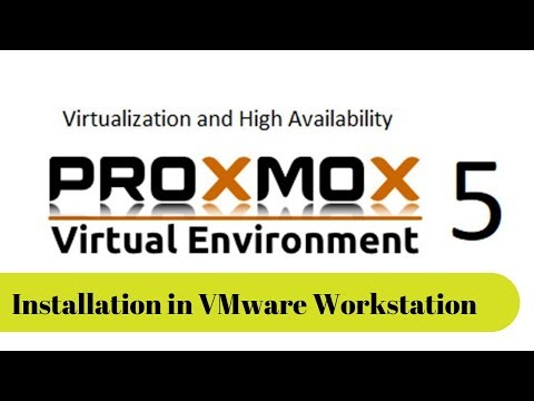Install ProxMox 5.3 into VMware Workstation 14