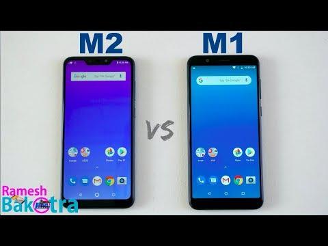 Asus Zenfone Max M2 Vs Max Pro M1 SpeedTest And Camera Comparison