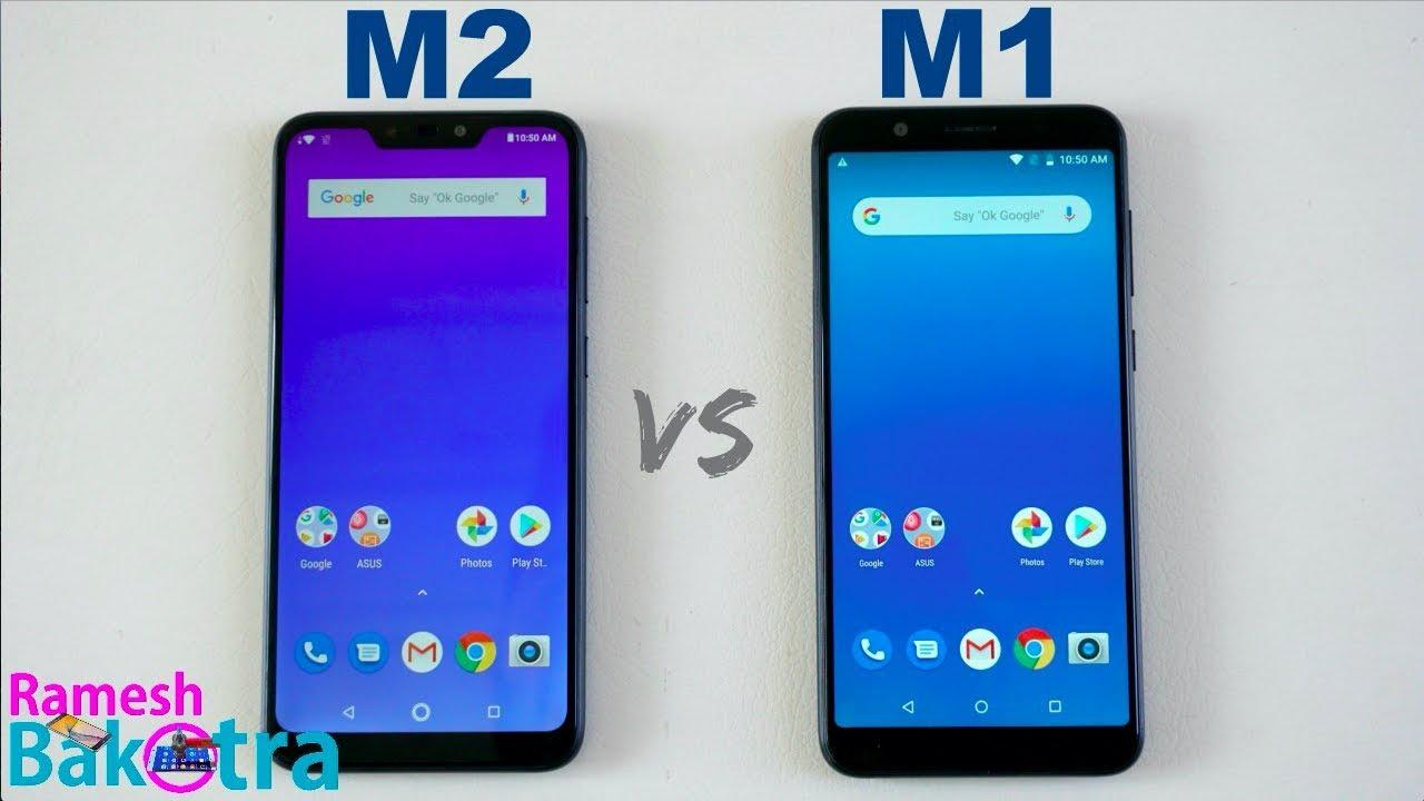 Asus Zenfone Max M2 vs Max Pro M1 SpeedTest