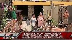 SONA: Housing project sa Laguna, winasak ng bagyong Glenda