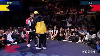 Waydi vs Icee SEMI FINAL Hiphop Forever Warrior Edition - Summer Dance Forever 2018 - Stafaband