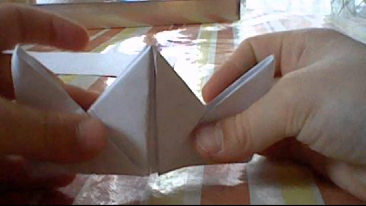 fabriquer une bo te en papier magikayme origami n 2 youtube. Black Bedroom Furniture Sets. Home Design Ideas