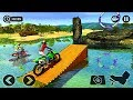 Floating Water Bike Driving Android gameplay