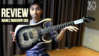 Review Ibanez Iron Label RGDIX6PB SKB