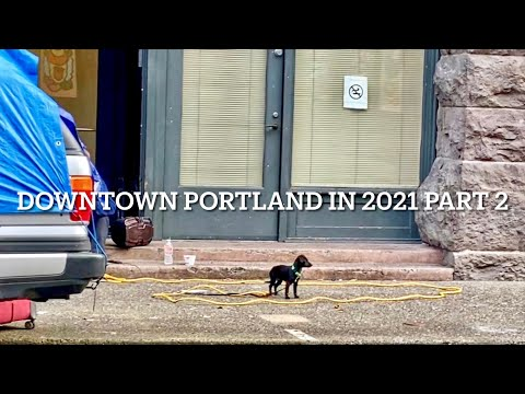 What Downtown Portland Looks Like in 2021 (Part 2)